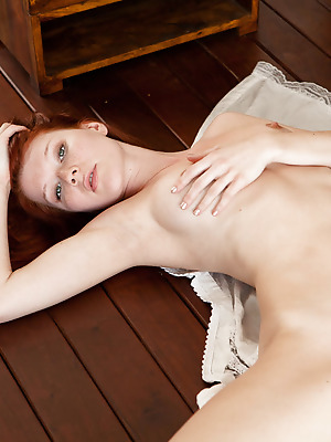 SexArt  Mia Sollis  Cute, Fingering, Model, Blue eyes, Erotic, Softcore, Red Heads